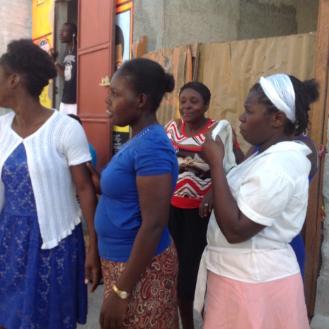 Haiti:  International Women's Day – We build our homes!