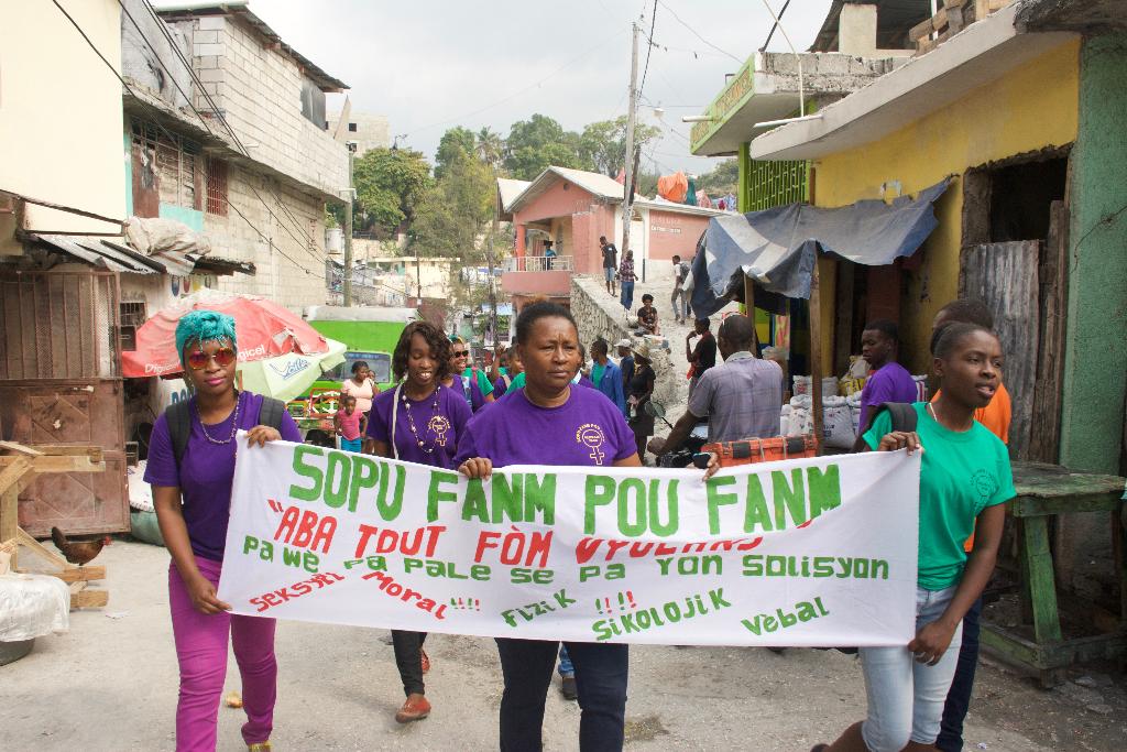 Ann Konbat Vyolans Kap Fet Sou Fanm – Week 3